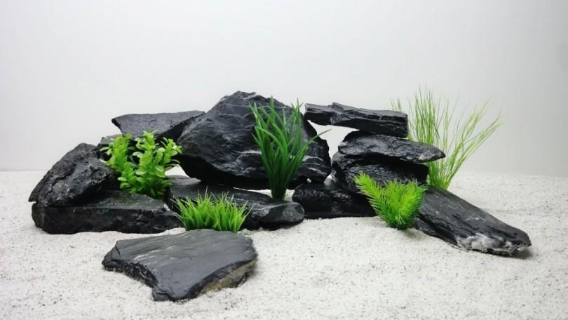 Natursteine for Schwarze steine deko