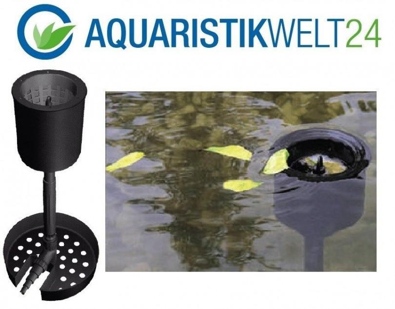 Stand skimmer f r teiche bis zu 30m standskimmer for Gartenteich algenfrei